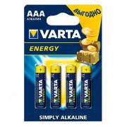 Батарейки Varta Energy AAA 4шт