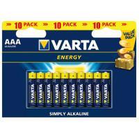 Батарейки Varta 4103 Longlife AAA 1,5В щелочные 10шт