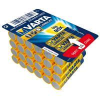 Батарейки Varta 4103 Longlife AAA 1,5В щелочные 24шт
