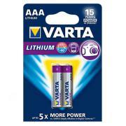 Батарейки Varta 6103 Ultra Lithium AAA 1,5В литиевые 2шт