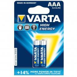 Батарейки Varta 4903 Longlife Power AAA 1,5В щелочные 2шт