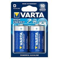 Батарейки Varta 4920 Longlife Power D 1,5В щелочные 2шт