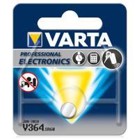Батарейки Varta 364 SR60 1,55В часовые дисковые серебряно-цинковые 10шт