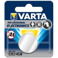 Батарейки Varta 6450 CR2450 3В дисковые литиевые 10шт