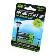 Аккумуляторы Robiton AAA 400мАч 2шт
