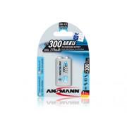 Аккумулятор Ansmann maxE 9V (крона) 300мАч 1шт