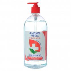 Мыло жидкое антибактериальное Красная Линия Защитное 520 гр