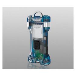 Компактный карманный Li-Po фонарик-брелок на ключи Armytek Zippy Blue Sapphire F06001B