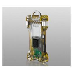 Компактный карманный Li-Po фонарик-брелок на ключи Armytek Zippy Yellow Amber F06001Y