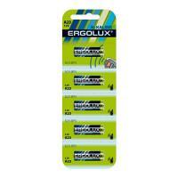Батарейки алкалиновые 12296 Ergolux 23А 55mAh 12v 5шт