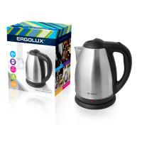 Электрический чайник металлический ERGOLUX ELX-KS01-C72 1.8л 2300Вт арт13120