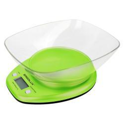 Кухонные электронные весы ERGOLUX ELX-SK04-C16 со съемной чашей 5 кг САЛАТОВЫЕ арт13605