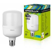 Лампа светодиодная мощная ERGOLUX LED-HW-40W-E27-4K 220В 40Вт E27 4500К нейтральный белый арт.13554