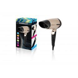 Фен для сушки и укладки волос ERGOLUX ELX-HD02-C64 со складной ручкой 1600Вт арт.13130