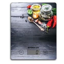 Кухонные электронные весы ERGOLUX ELX-SK02-С02 платформа 5 кг СПЕЦИИ арт13601