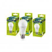 Лампа светодиодная ERGOLUX LED-A60-17W-E27-6K 220В 17Вт E27 6500K холодный белый арт.13181