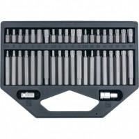 Набор бит HEX TORX SPLine 13318 STELS ½ дюйма 42 предмета пластиковый кейс