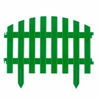 "Забор декоративный ""Винтаж"", 28х300 см, зеленый, Россия Palisad 65012"