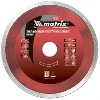 Диск алмазный по бетону Matrix Professional 73184 отрезной сплошной 115*22,2 мокрый рез