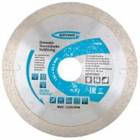 Диск алмазный по бетону Gross 73038 сплошной c лазерной перфорацией 125*22,2 мокрый рез