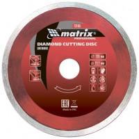 Диск алмазный по бетону Matrix Professional 73187 отрезной сплошной 180*22,2 мокрый рез