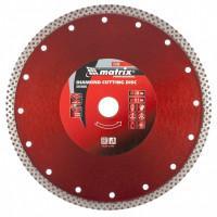 Диск алмазный по бетону Matrix Professional 73136 отрезной сплошной 230*22,2 сухой рез