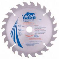 Пильный диск по дереву 185 x 20/16 мм, 24 твердосплавных зуба Барс
