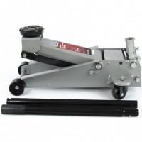 Домкрат гидравлический подкатной профессиональный, быстрый подъем, 3 т, 130-465 мм. Quick Matrix 51047