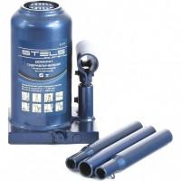 Домкрат гидравлический бутылочный телескопический, 6 т, H подъема 170-420 мм Stels 51117