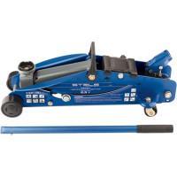 Домкрат гидравлический подкатной с фиксатором, 2,5 т, Safety Pin, 140-385 мм, в кейсе Stels 51132