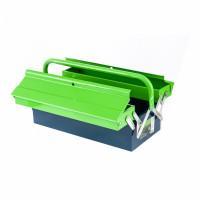 Ящик для инструмента, 430 х 200 х 160 мм, три секции, металлический Сибртех 90750