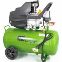 Компрессор воздушный КК-1500/50,1,5 кВт, 198 л/мин, 50 л, прямой привод, масляный Сибртех