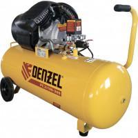 Компрессор воздушный PC 2/100-360, 2,3 кВт, 360 л/мин, 100 л, 10 бар Denzel