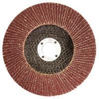 Круг лепестковый торцевой, P 100, 125 х 22,2 мм Matrix 74047