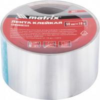 Лента клейкая алюминиевая, 50 мм х 10 м Matrix 89071