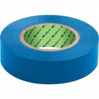 Изолента ПВХ, 15 мм х 10 м, синяя Сибртех 88787