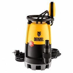 Дренажный насос для чистой и грязной воды DP450S, 450 Вт, напор 6 м, 12000 л/ч Denzel