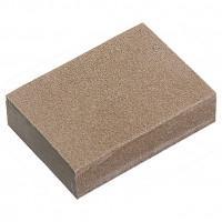 Губка для шлифования, 125 х 100 х 10 мм, мягкая, 3 шт, P 60/80, P 60/100, P 80/120 Matrix 75715