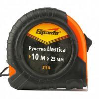 Измерительная рулетка Sparta Elastica 31314 Sparta 10м полотно 25мм обрезиненный корпус, усиленная возвратная пружина