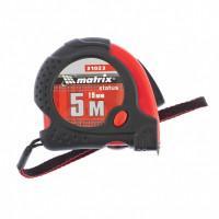 Измерительная рулетка Status Magnet 31023 Matrix 5м полотно 19мм Fixations магнитный зацеп, обрезиненный корпус