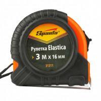 Измерительная рулетка Sparta Elastica 31311 Sparta 3м полотно 16мм обрезиненный корпус, усиленная возвратная пружина