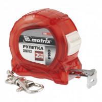 Измерительная рулетка Compact 32595 Pro Matrix 2м полотно 16мм компактный размер, карабин-держатель