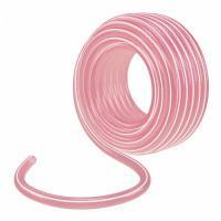 """Шланг эластичный 3/4"""", 25 м, прозрачный розовый Palisad"""