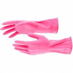 Перчатки хозяйственные латексные, S Elfe 67881