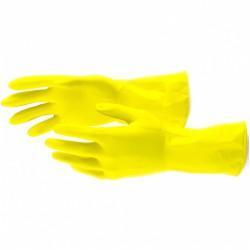 Перчатки хозяйственные латексные, XL Сибртех 67879