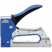 Степлер металлический, двухкомпонентная рукоятка, тип скобы: 53, 6-10 мм Барс 40002