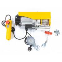 Тельфер электрический TF-500, 0,5 т, 1020 Вт, высота 12 м, 10 м/мин Denzel 52012