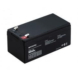 Герметичный свинцово-кислотный аккумулятор 12В 4Ач VRLA AGM необслуживаемый Pitatel HR 4-12