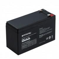 Герметичный свинцово-кислотный аккумулятор 12В 7,2Aч VRLA AGM необслуживаемый Pitatel HR 7.2-12