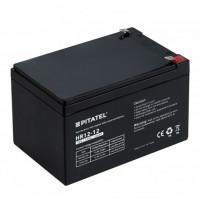 Герметичный свинцово-кислотный аккумулятор 12В 12Ач VRLA AGM необслуживаемый Pitatel HR 12-12